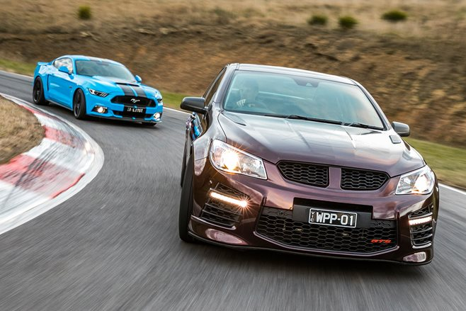 2017 Herrod Mustang GT vs 2017 Walkinshaw W557