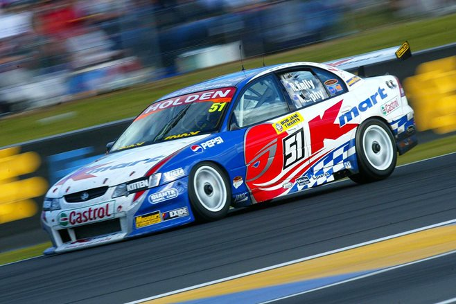 Holden HRT VY Commodore lap of the gods