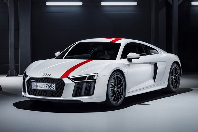 frankfurt motor show audi r8 v10 rws revealed motor. Black Bedroom Furniture Sets. Home Design Ideas