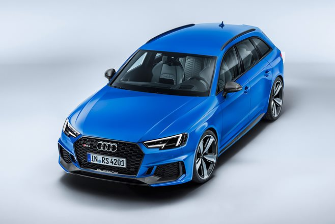 frankfurt motor show 2018 audi rs4 avant revealed motor. Black Bedroom Furniture Sets. Home Design Ideas