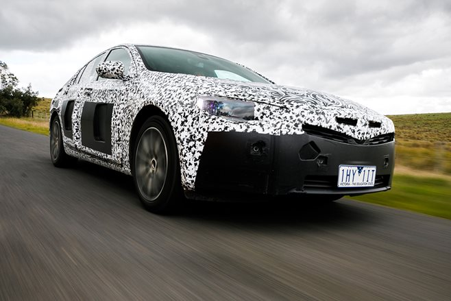 2018 Holden Commodore V6 AWD prototype