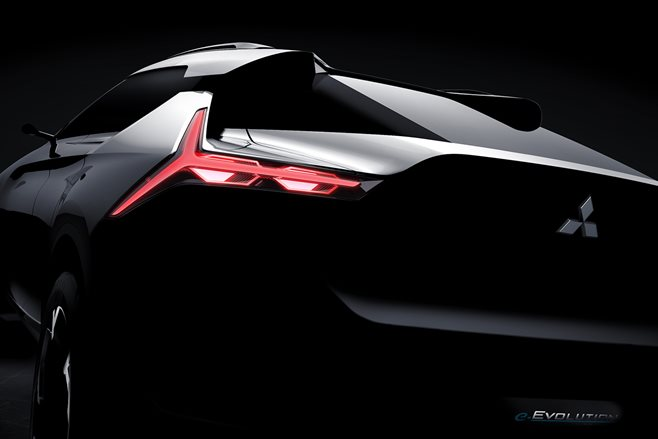 Mitsubishi teases e Evolution MAIN