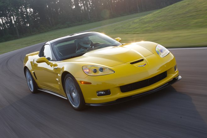 2009 Chevrolet Corvette ZR1 drive