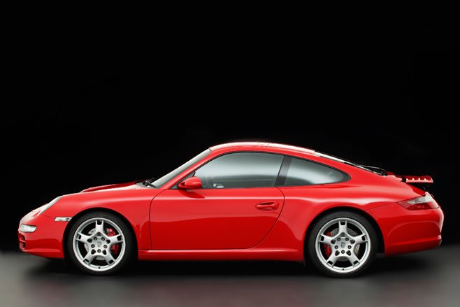 2005 Porsche 911 Carrera S side