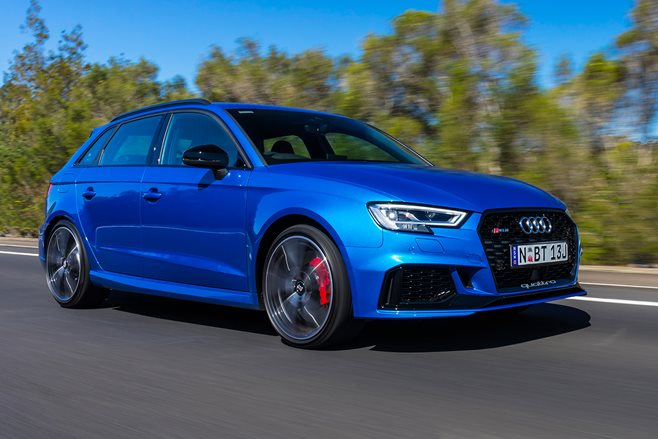 2018 Audi RS3 Sportback front