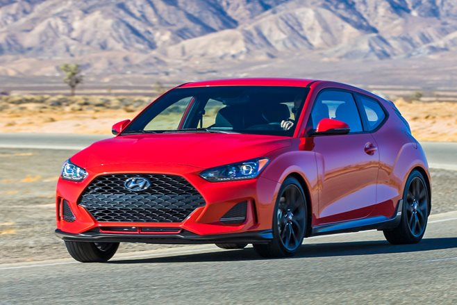 2018 hyundai veloster turbo revealed motor. Black Bedroom Furniture Sets. Home Design Ideas