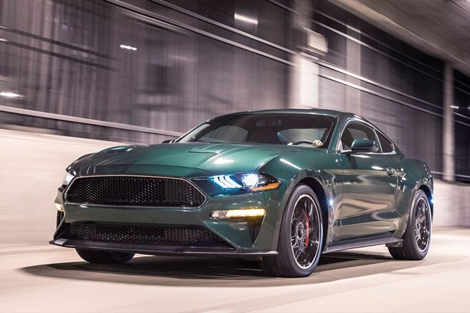 2018 ford mustang bullitt revealed motor. Black Bedroom Furniture Sets. Home Design Ideas