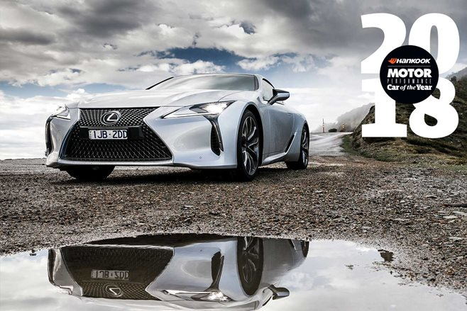 Lexus LC500 Performance Car of the Year 2018 9th