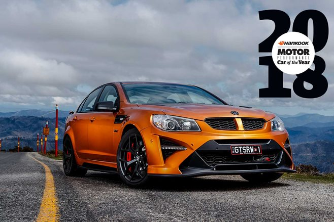 HSV GTSR W1 Performance Car of the Year 2018 feature