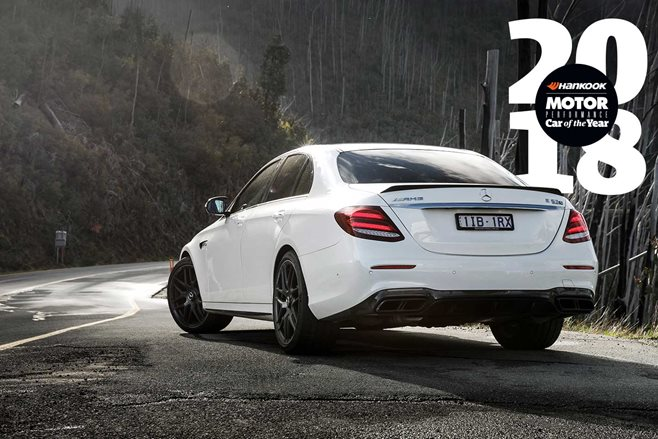 Mercedes AMG E63 S Performance Car of the Year 2018 2nd Place feature