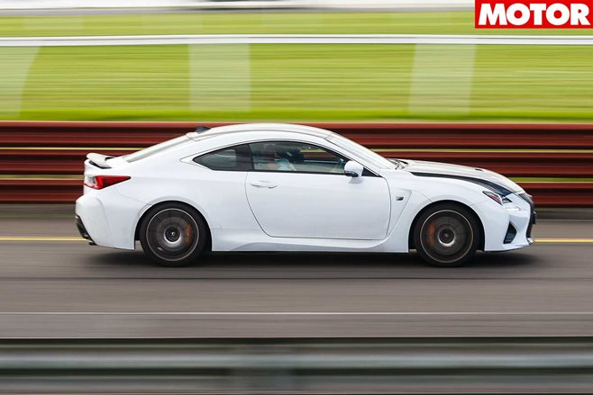 2017 Lexus RC F long term review Part 4 performance feature