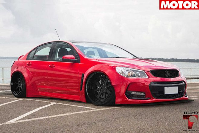 Holden VF Commodore wide body kit news