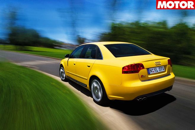 2006 Audi S4 review classic MOTOR feature