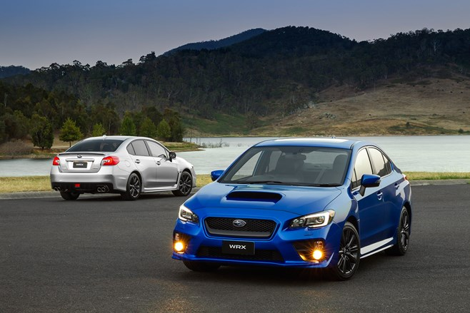 Subaru WRX sets sales record