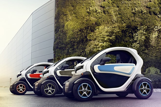 Renault Twizy crash test