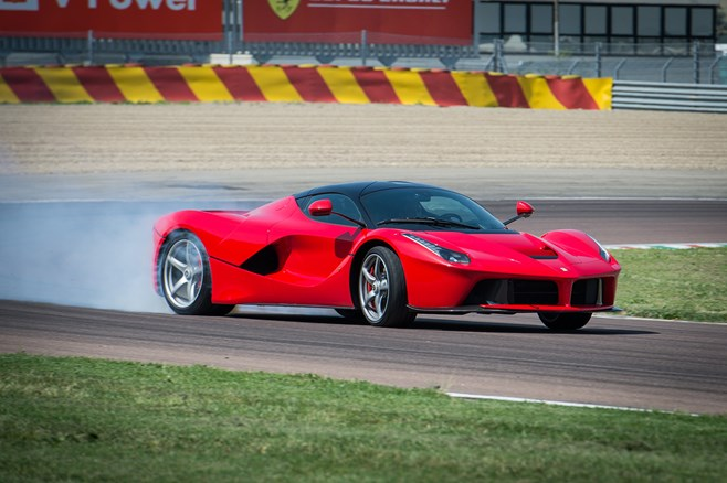 LaFerrari at Fiorano