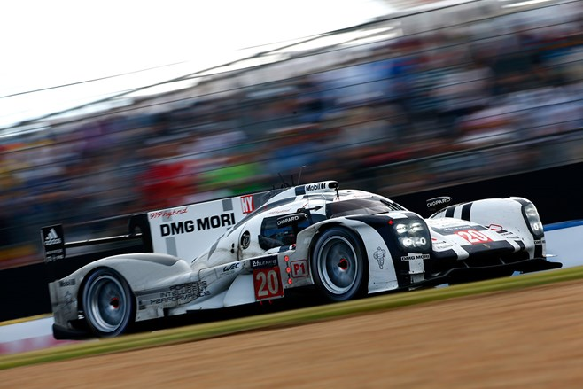 Porsche 919 #20 Mark Webber