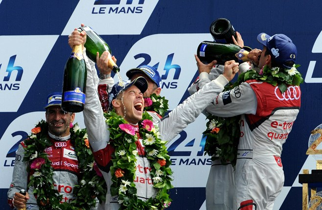Audi wins at Le Mans 24 Hour