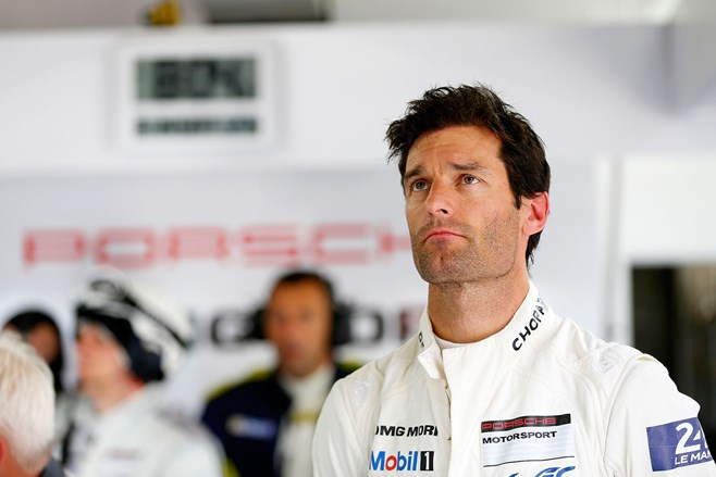 Mark Webber bows out of Le Mans
