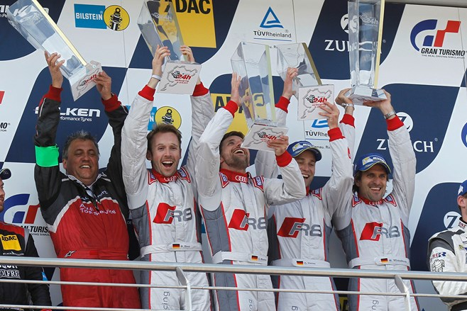Audi wins Nurburgring 24 Hour