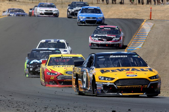 Marcus Ambrose leads at Sonoma