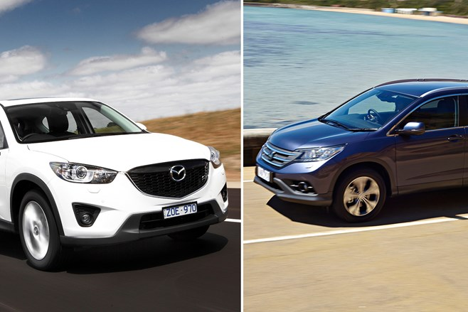 CX-5 vs CR-V diesel review
