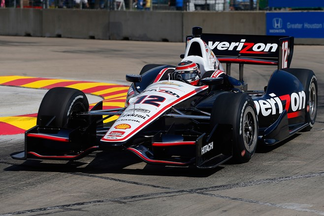 Will Power races in Houston