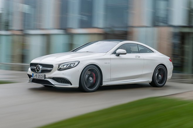 Mercedes-Benz S63 AMG Coupe Review First Drive Test