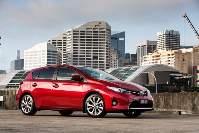 Toyota Corolla best selling car in Australia June 2014