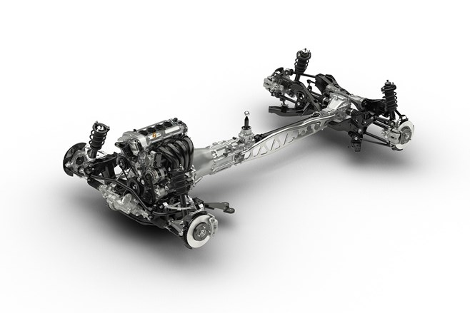 ND Mazda MX-5 bare chassis