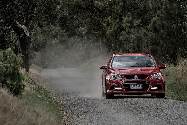 Holden first and last durability circuit 48-215 vs vf commodore