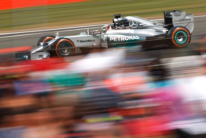 Hamilton wins the British GP