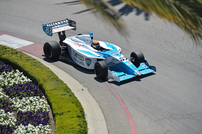 Matthew Brabham racing Indy Lights