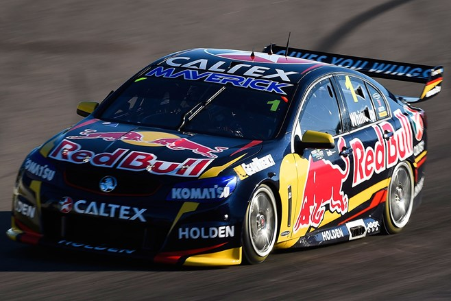 Jamie Whincup at Townsville 500