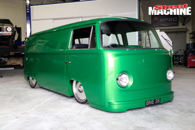 Bliss N Esso's wild Kombi is now fully-finished