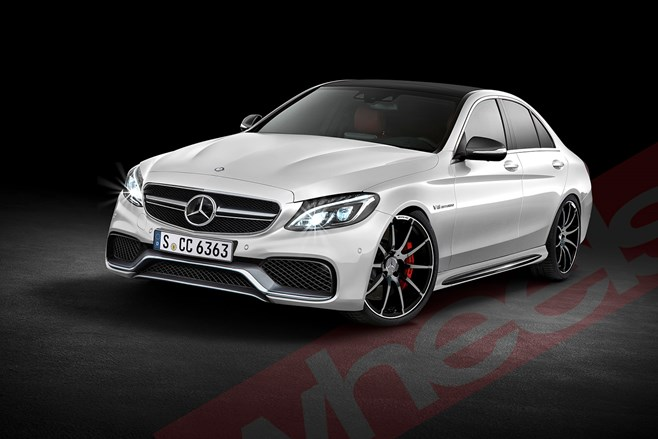 Mercedes-AMG C63 4.0 twin turbo