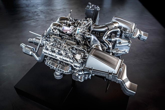 Mercedes-Benz AMG M178 engine 4.0 V8 twin turbo