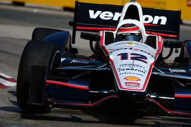 Will Power manages a podium in Toronto