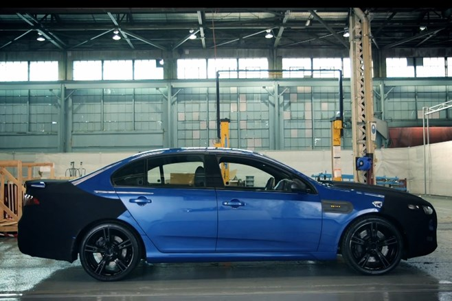Ford Falcon XR8 teaser