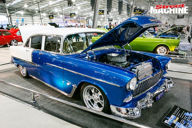 Kit Hunter's stunning 1955 Chev