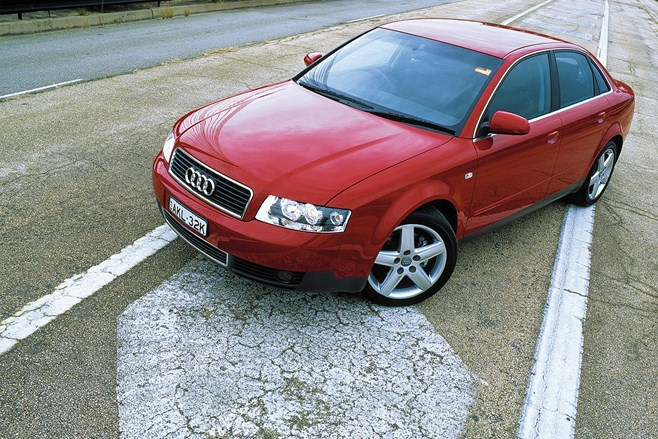 Multitronic debuted in the B6 Audi A4