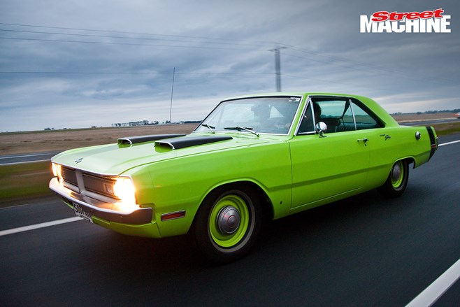 Project Swinger 1970 Dodge Dart Street Machine