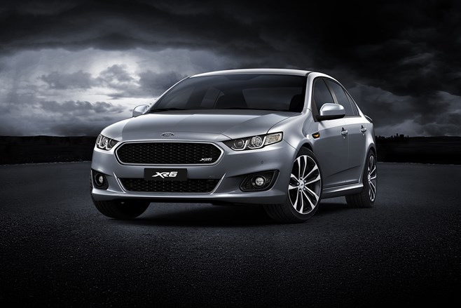 Ford Falcon XR6 reveal