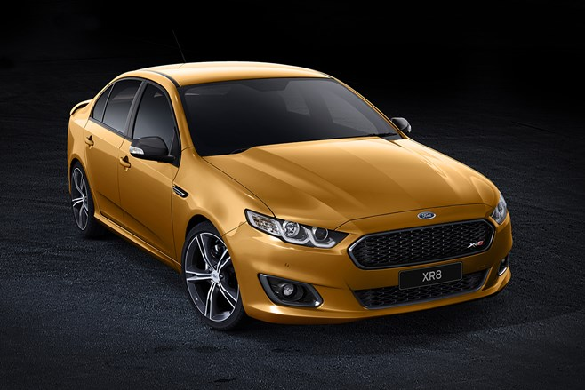Ford Falcon XR8 reveal