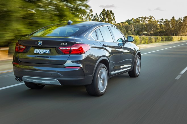 BMW X4 test drive review