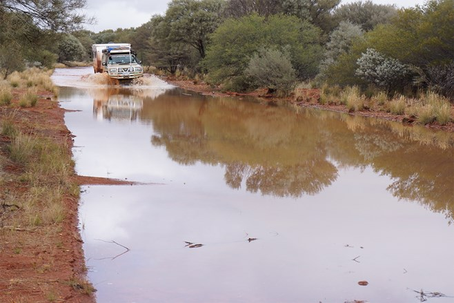 Gascoyne River flooding