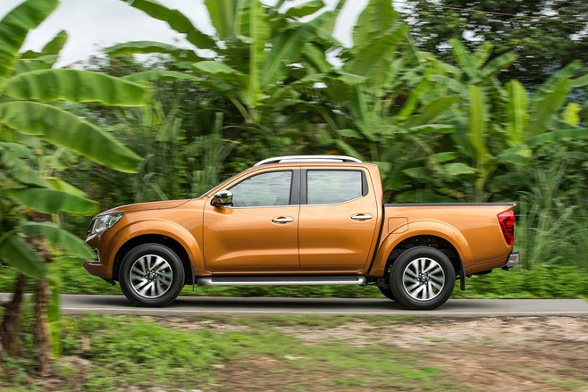Nissan Navara D23 first drive test review