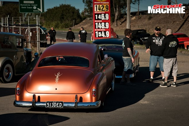 Michael Stewart and his '51 Chev has emigrated to NZ!