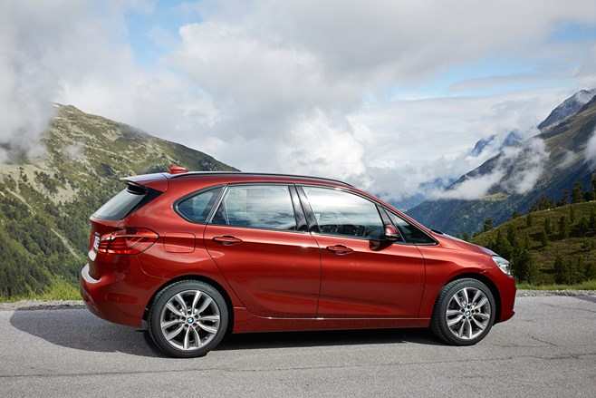 BMW 2 Series Active Tourer first test drive review