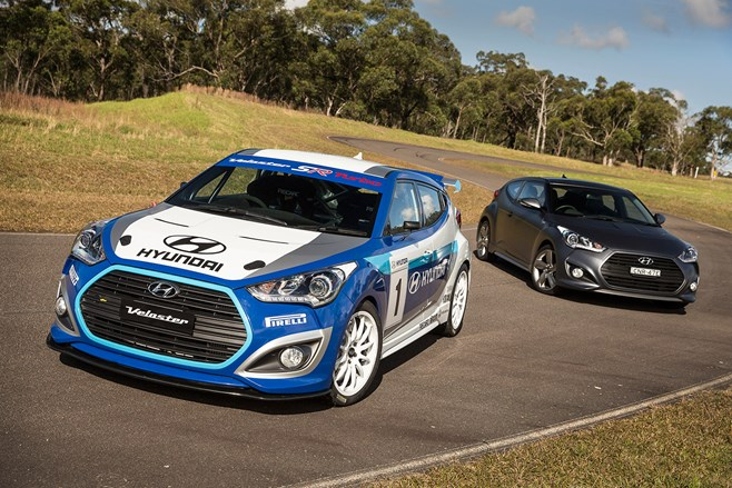 Hyundai Veloster Turbo race car test drive review